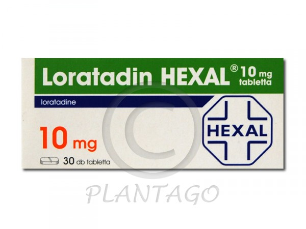 Loratadin Hexal 10mg tabletta 30x