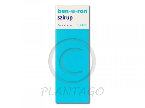 Ben-u-ron szirup 100ml