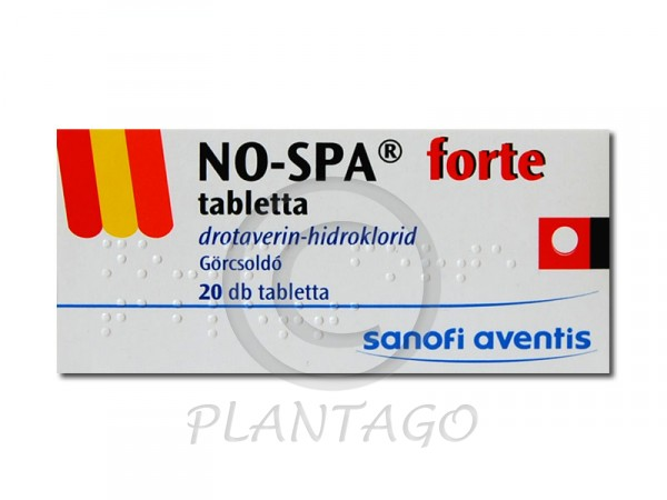 No-spa forte tabletta 20x