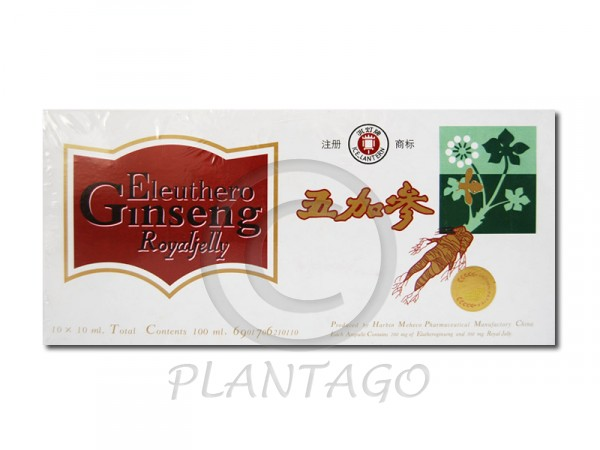 Ginseng Royal Jelly Eleuthero Oriental Herbs 10x10ml