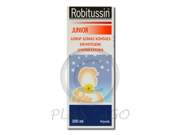 Robitussin Junior szirup 1x100ml