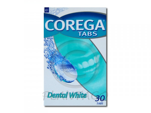 Corega Tabs Dental Weiss tabletta 30x