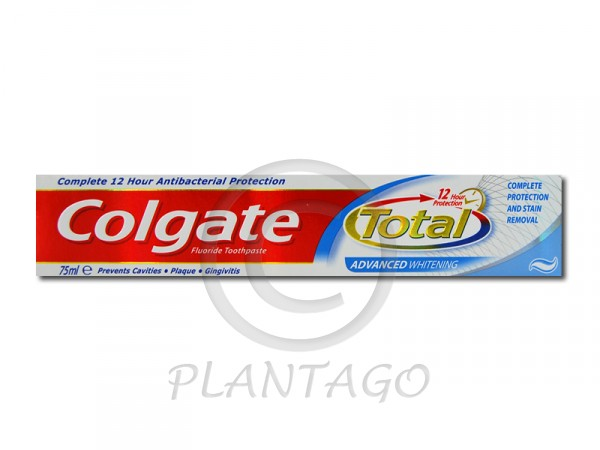 Colgate fogkrém total plus whitening 75ml
