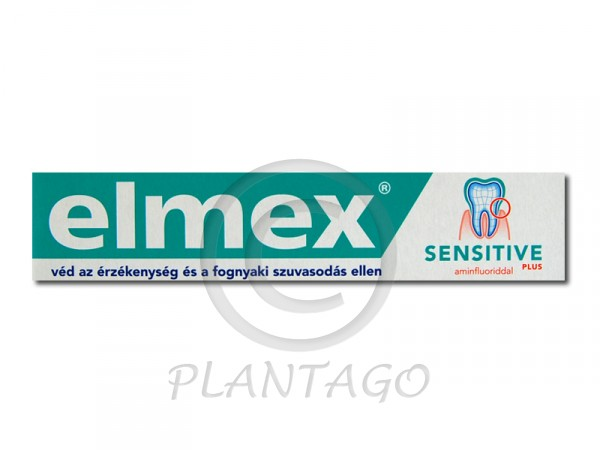 Elmex fogkrém sensitive plus 75ml