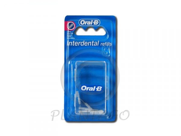 Oral-B fogkefe interdental finom kúpos 6x