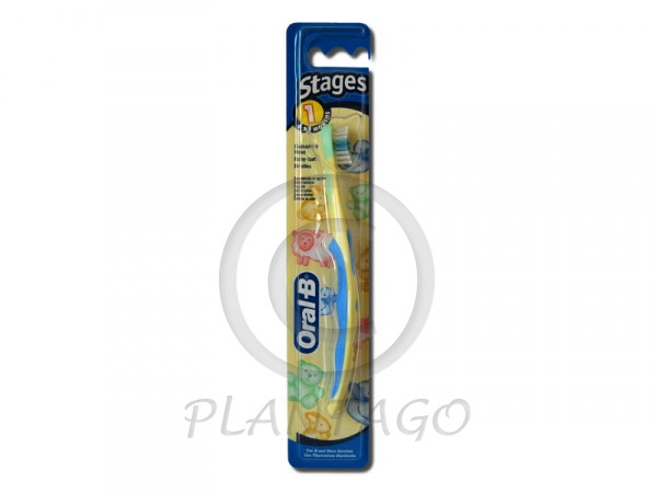 Oral-B fogkefe gyerek Stages-1 4-24 hó 1x