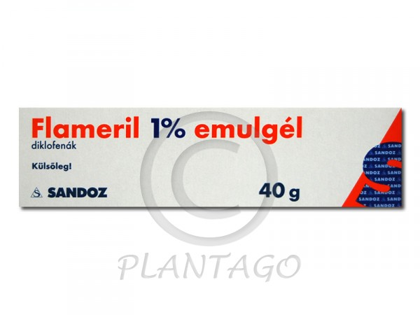 Flameril 1% emulgél 40g