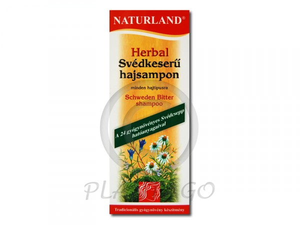 Naturland Herbal Svédkeserű sampon 180ml
