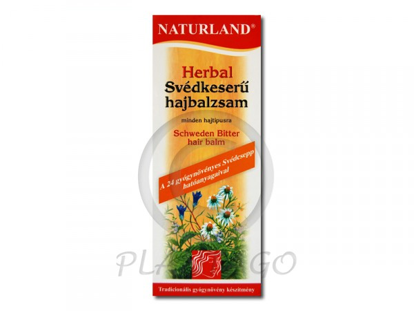 Naturland Herbal Svédkeserű hajbalzsam 180ml