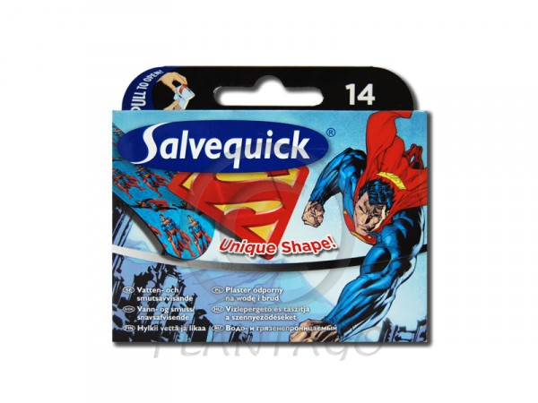 Salvequick sebtapasz supermann (516624) 14x
