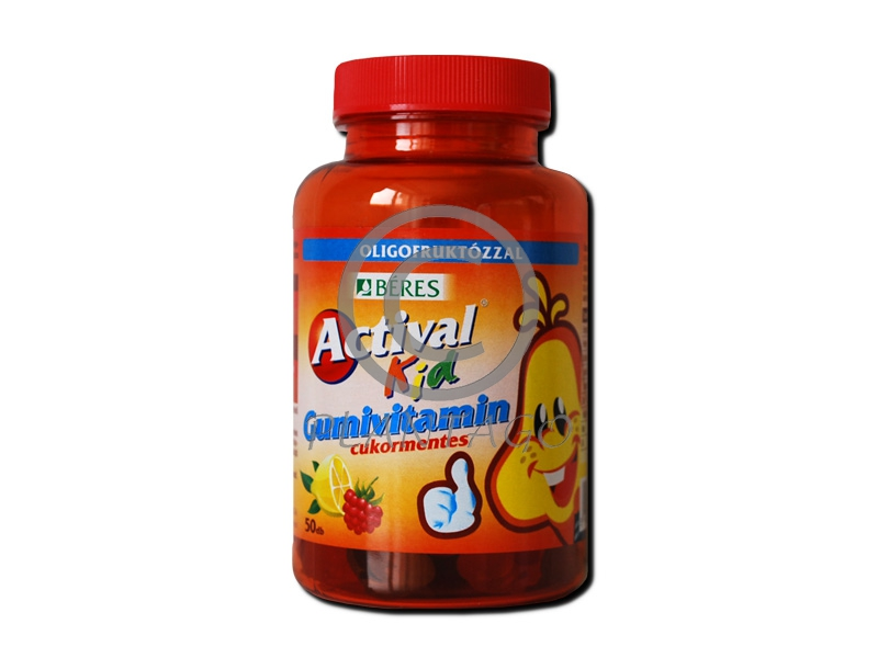 Actival Kid gumivitamin 50x